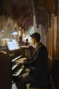 2013_Williams_Music_Dept_Student_Organists