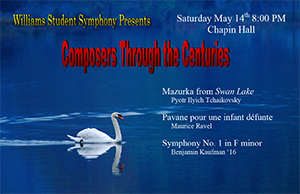 S051416 Student Symphony Poster CAL Spring 2016