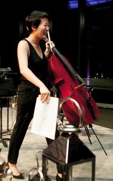 Patricia Ho '16, cello